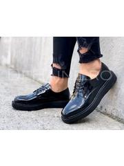 Pantofi barbati negri A4865
