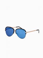 Ochelari de soare A172 auriu albastru