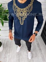 Bluza barbati bleumarin slim fit 2557 I7-2*