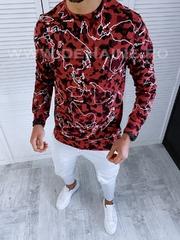 Bluza barbati cu imprimeu slim fit B3135 15-3