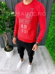Bluza barbati slim fit rosie ZR A6258 12-6