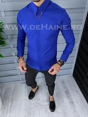 Camasa barbati albastra slim fit B1425 12-2