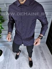 Camasa barbati BATAL eleganta cu imprimeu slim fit B1347 W