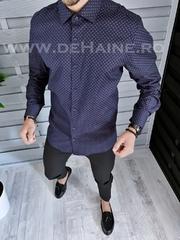 Camasa barbati BATAL eleganta cu imprimeu slim fit B1349 W