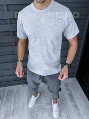 Tricou de casa barbati slim fit ZR A9536 D9