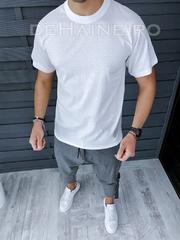 Tricou de casa barbati slim fit ZR A9539 D9 D10