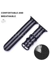 Curea material textil Musen pentru Apple Watch 42/44 mm cu model A8621