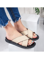Papuci cu talpa joasa dama bej Altisa