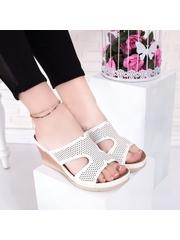 Papuci cu talpa ortopedica dama albi Ramsia