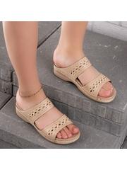Papuci dama bej Tacita