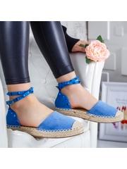 Sandale Carisia albastre cu tinte -rl