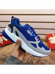 Pantofi sport barbati albastri Binali
