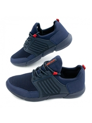 Pantofi sport barbati albastri Manicu