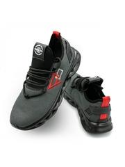 Pantofi sport barbati gri cu negru Zartyl