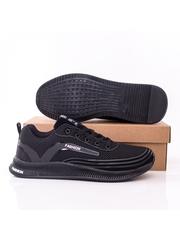 Pantofi sport barbati negri cu alb Vagaria
