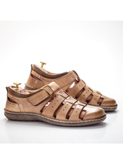 Sandale Piele barbati maro Nelsomi