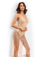 Rochie Luxurious Gold L00113