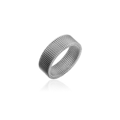 Inel Titanium Silver I001