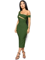 Rochie Army Green S8003