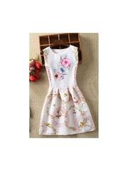Rochie cu imprimeuri Alia multicolor