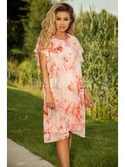 Rochie Helena eleganta cu imprimeuri floarale