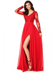 Rochie Jesica de seara eleganta rosie