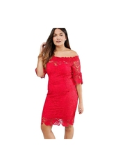 Rochie Red Decision