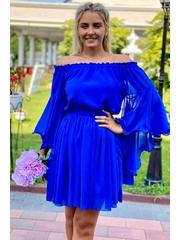 Rochie Sara in nuante de albastru