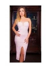 Rochie Strapless Pink