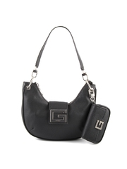 Poseta tote femei Guess neagra side wings 910POSS8003N