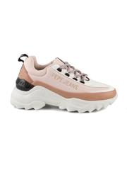 Pantofi sport femei Pepe Jeans roz din piele 3199dps31002ro