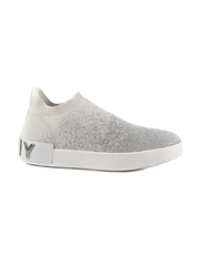 Pantofi sport femei DKNY argintii 2559DPS33913AG