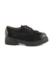 pantofi femei benvenuti negri din piele 2049dp1144vn