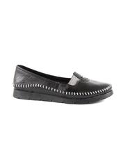 Pantofi femei Benvenuti negri din piele 2539dp4440n