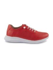 pantofi femei benvenuti rosii din piele 2539dp0002r