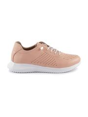 pantofi femei benvenuti roz din piele 2539dp0002ro