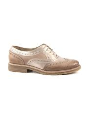 pantofi femei benvenuti roz metalizat din piele 809dp3722ra