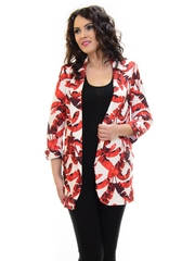 Blazer Lara Bella Must Have Red