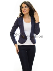 Blazer Small Dots DarkBlue