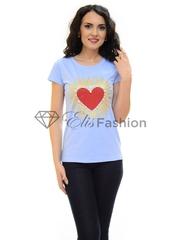Tricou Addictive Heart Blue