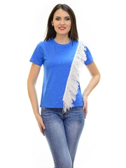 Tricou Flash Tulle Blue