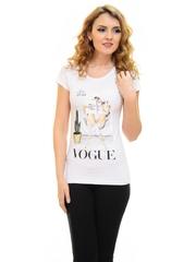 Tricou Mind On Vogue White