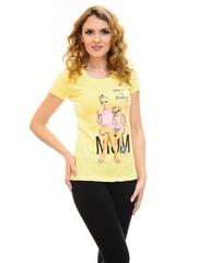 Tricou Mom Of Drama Yellow