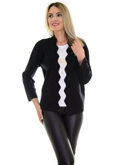 Cardigan Beautiful Waves Black