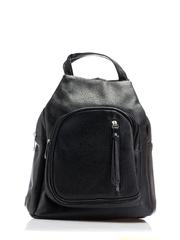 Ghiozdan Kelly negru cu manere tip geanta