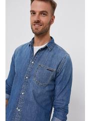 Pepe Jeans - Camasa din bumbac denim Porter