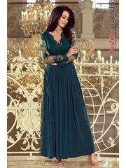 Rochie Lunga Boemia 52 Verde