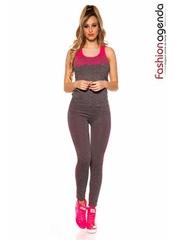 Set Fitness Level Fuchsia