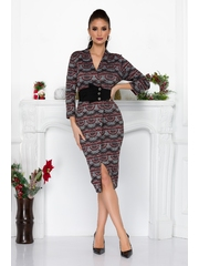 Rochie Giselle Gri