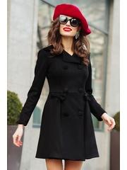 Trenci elegant negru